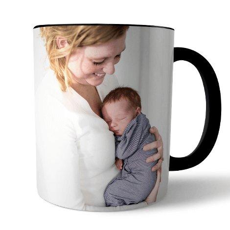 Photo sur tasse