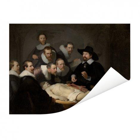 De anatomische les van Dr Nicolaes Tulp - Schilderij van Rembrandt van Rijn Poster