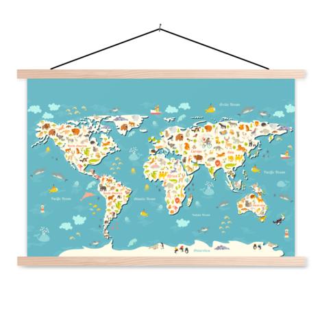 Zoekplaatje textielposter
