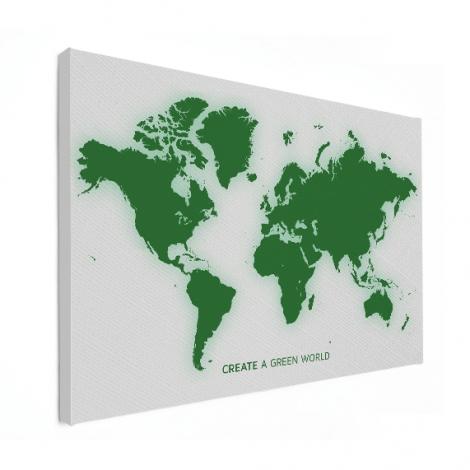 Groen canvas