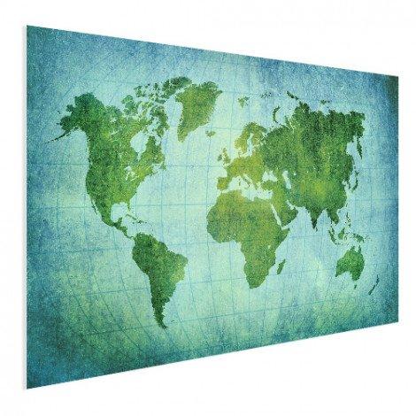 Perkament krachtig groen poster
