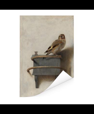 Het puttertje - Schilderij van Carel Fabritius Poster