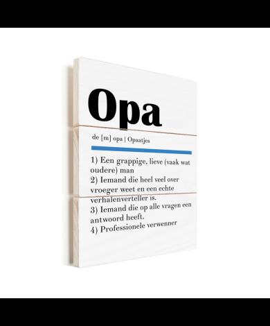 Vaderdag - Definitie Opa Vurenhout