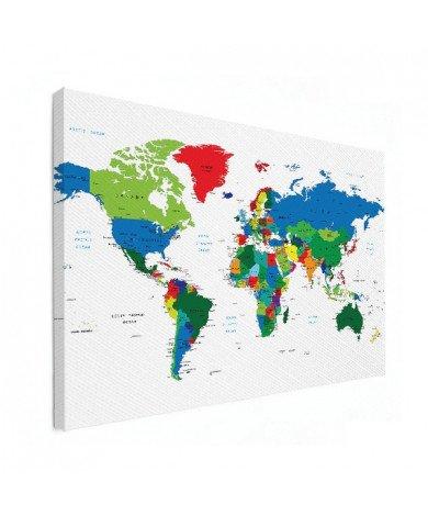 Alle landen Canvas