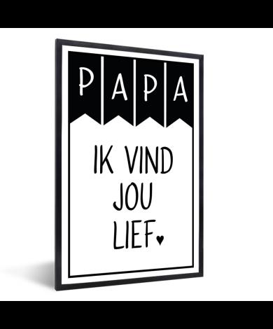 Vaderdag – Papa ik vind jou lief Fotolijst