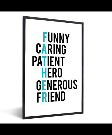 Vaderdag - geschenken met tekst - Father Fotolijst