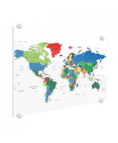 Alle landen plexiglas