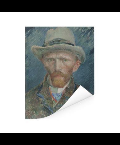 Zelfportret 1887 - Schilderij van Vincent van Gogh Poster