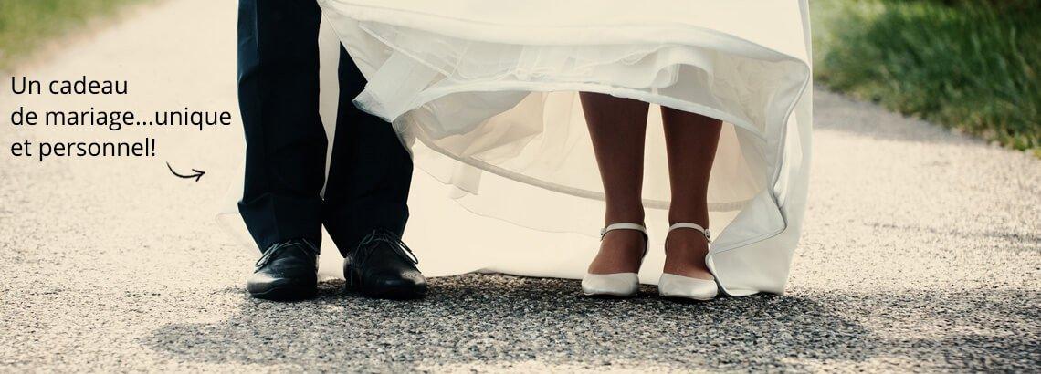 Les plus beaux cadeaux personnalisés du plus beau mariage
