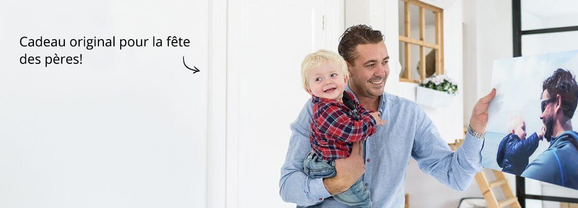 Cadeau photo pour les pères les plus cool