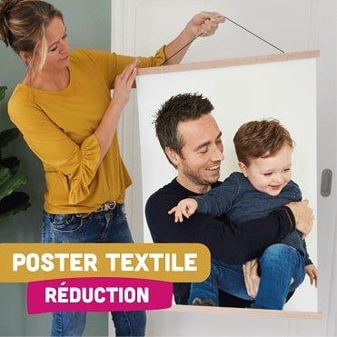 Poster textile réduction