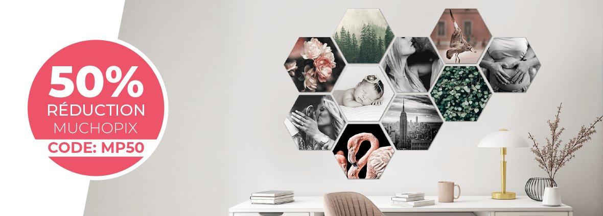 Réduction Hexagones