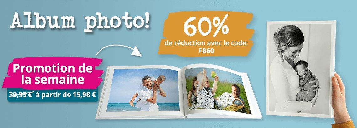 Album photo 60% de réduction