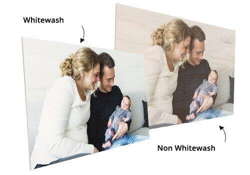 Traitement de whitewash bois