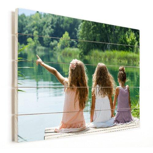 Photo sur bois avec les filles