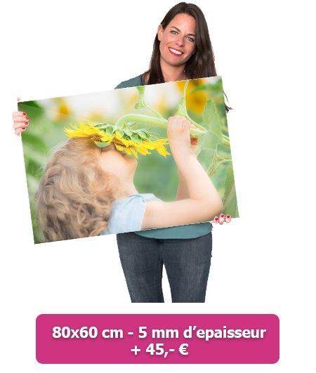 Foto op glas 80x60